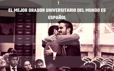 El mejor orador universitario del mundo es Español